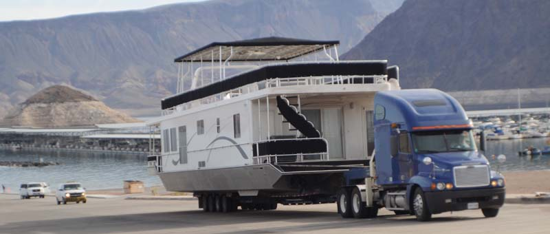 Houseboat Moving